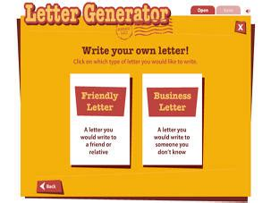 Read Write Think Postcard Template by Letter Generator Readwritethink