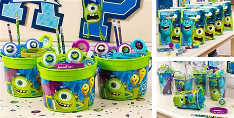 theme line monster university monsters university party favors stickers tattoos