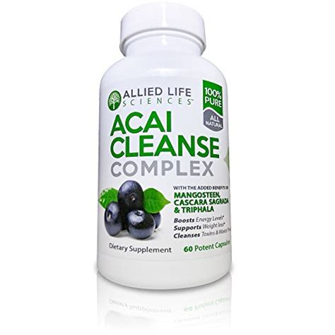 Acai Berry Detox And Colon Cleanse Reviews by Allied Acai Berry Cleanse Potent Acai Berry