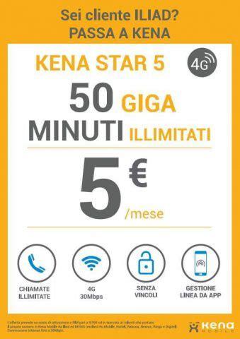 entra mobile kena mobile entra nel 4g con una tariffa operator attack