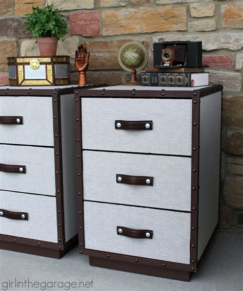 pottery barn inspired furniture pb inspired trunk bedside table makeover girl in the garage 174