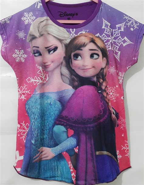 Kaos Elsa Frozen Murah 4 14t baju anak batwing frozen elsa purple