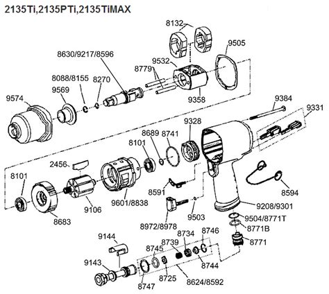 ingersoll rand parts diagram ingersoll rand 2141 parts diagram ir 2141 impact wrench