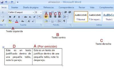 alineacion html imagenes y texto curso microsoft word alinear texto