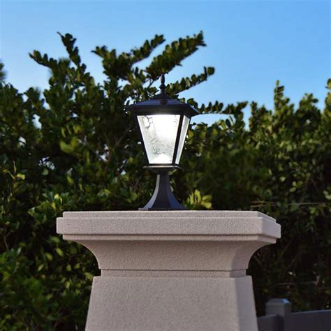 solar column lights pillar or column mount solar lights galaxy solar