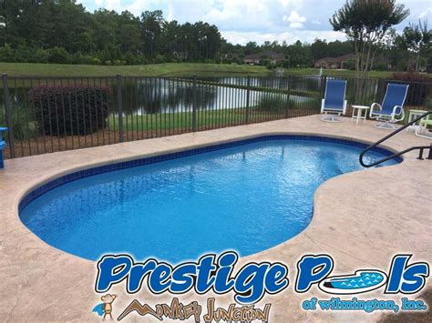 Backyard Pools Nc Prestige Pools Of Wilmington Nc Swimming Pool Photos