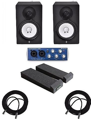 Speaker Audiobox U Cube Usb 20 Powered X Bass yamaha hs8 monitor speakers 1 pair mopad presonus reverb