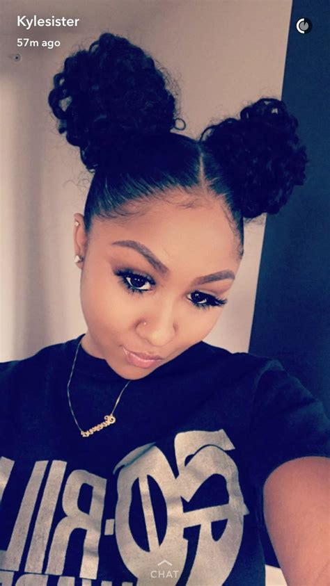 image result  therealkylesister  makeup hair styles