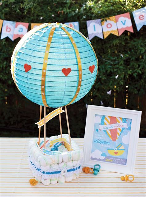 How To Make A Paper Balloon Fly - air balloon cake tutorial free printables