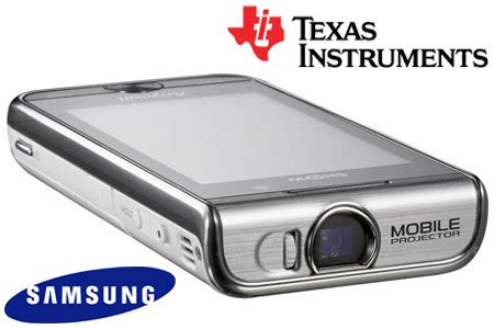mobile phones with projector samsung announces show w7900 projector mobile phone