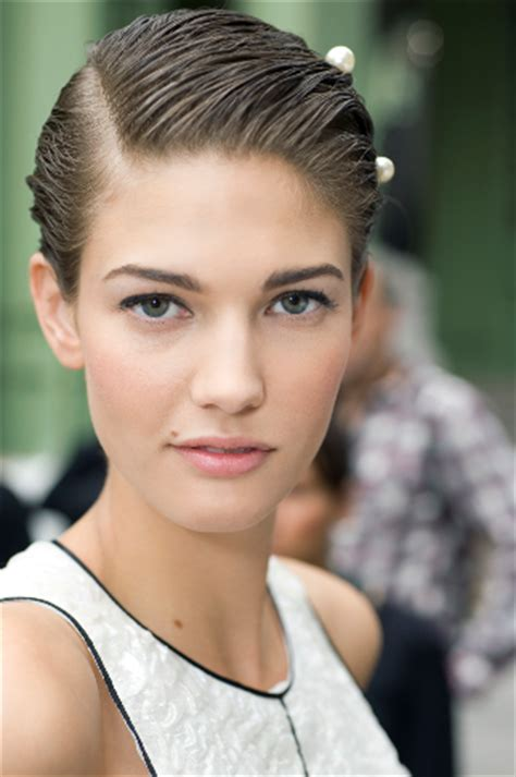 Salwa Pearly chanel 2012 summer ready to wear show the clothes now the makeup