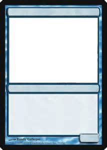 Magic Card Template by Magic The Gathering Memes