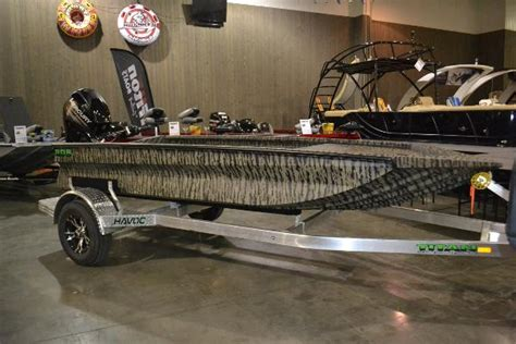 havoc boats bowfishing aluminum duck boat vehicles for sale