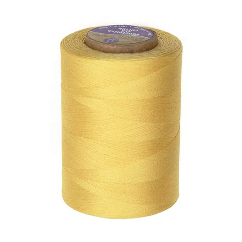 cotton machine quilting thread 1200 yd yellow discount