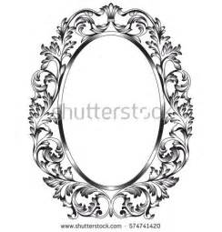 classic oval frame stock images royalty free images