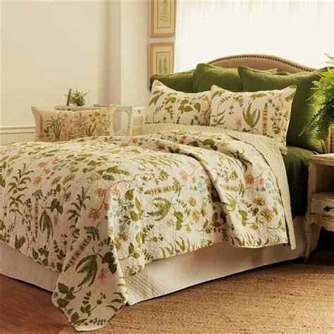 botanical bedding anessa quilt elegant design quilt 100 cotton pre washed