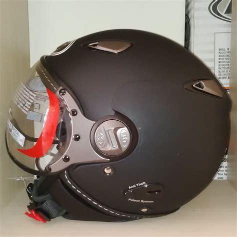 jual helm kyt retro elsico solid toko helm