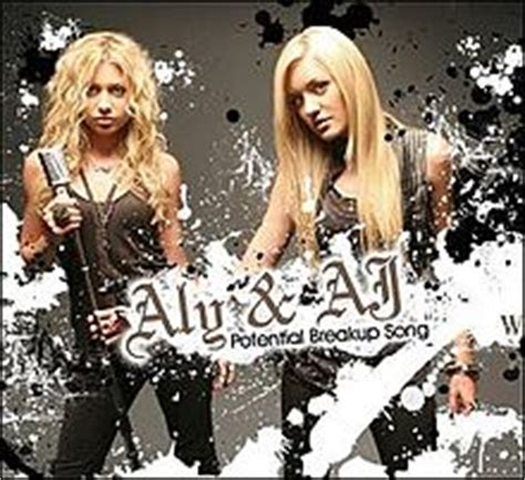 aly and aj potential breakup song potential breakup song wikipedia
