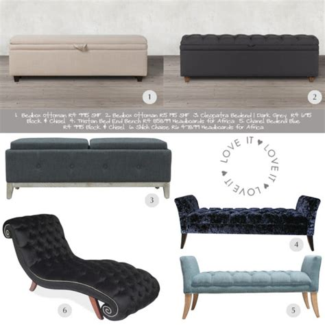 end of bed seating chic end of bed seating ideas sa d 233 cor design blog
