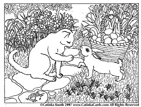 easter coloring pages with puppies easter dog coloring pages