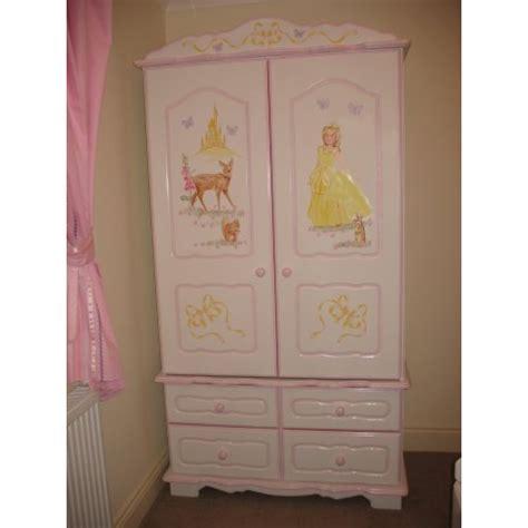 The Princess Wardrobe by Wardrobe 2 Door 4 Drawer Princess