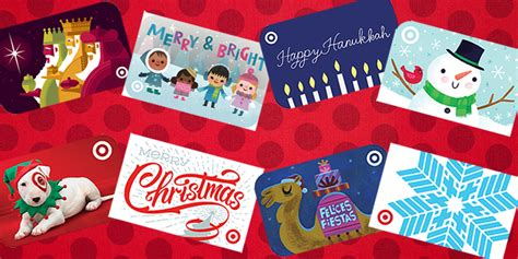 Holiday Gift Cards 2014 - throwback a look back at 10 years of target s holiday gift cards