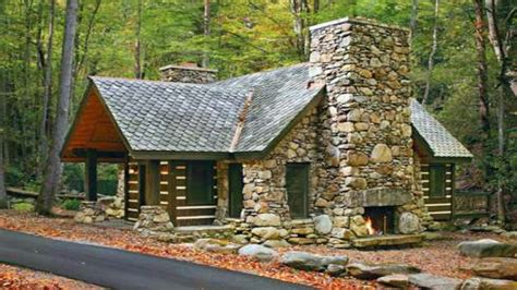 Small Stone Cabin Plans Small Stone House Plans Mountain Mountain Log House Plans