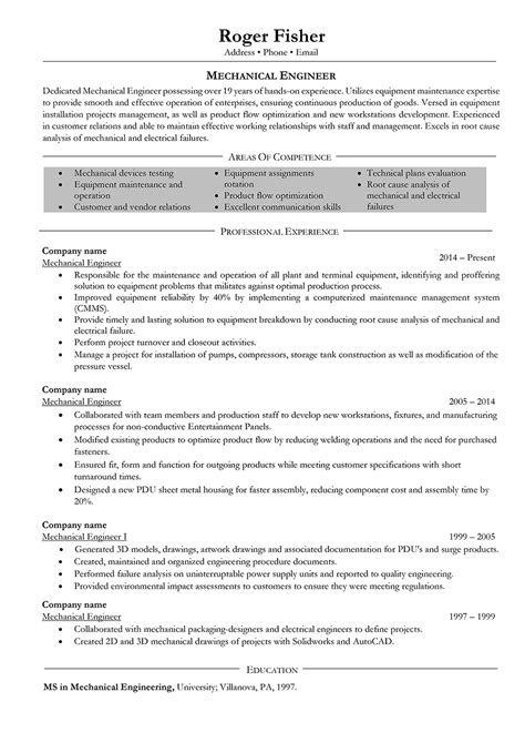mechanical engineering resume templates resume format for diploma in