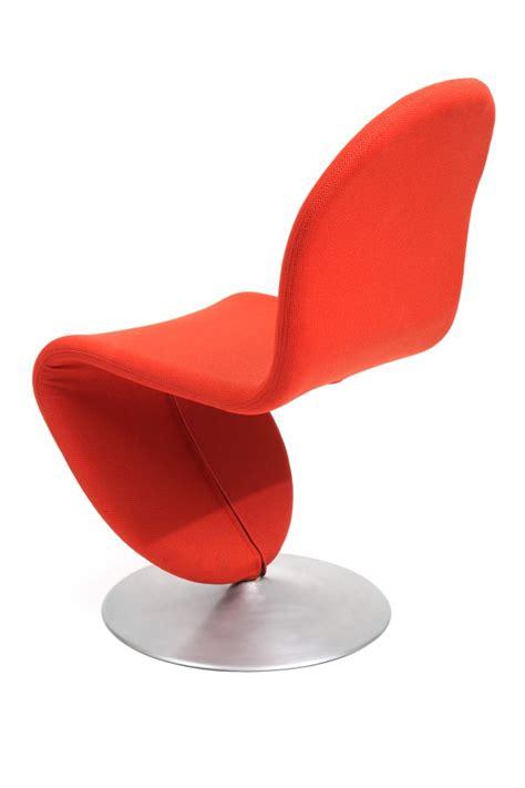 Furniture Items set of 8 verner panton fritz hansen 123 chairs red