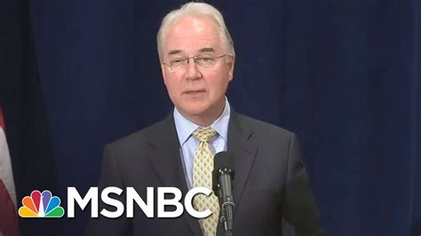 members under trump donald trump member tom price under fire for us