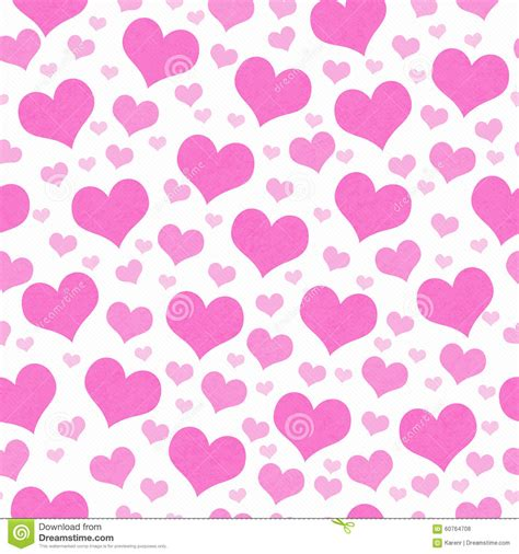 heart pattern repeat pink and white hearts tile pattern repeat background stock