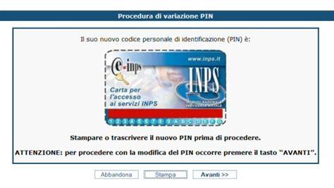 codice sedi inps come richiedere il pin inps per pensionati ed aziende