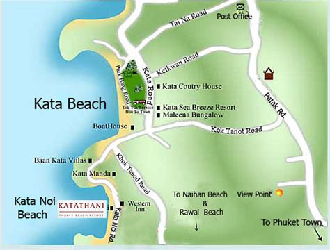 katathani resort map katathani phuket resort phuket