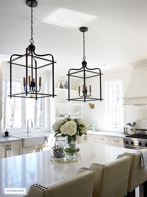 hanging light fixtures for kitchen best 25 lantern lighting kitchen ideas on