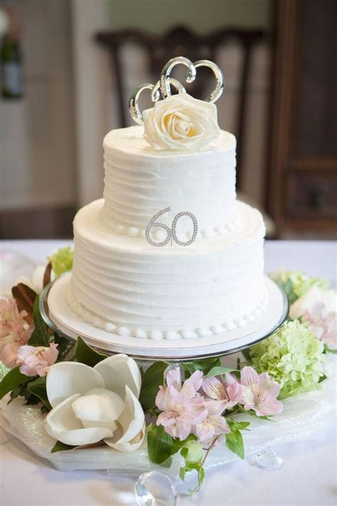 40 best 60th Anniversary Cake images on Pinterest   60th