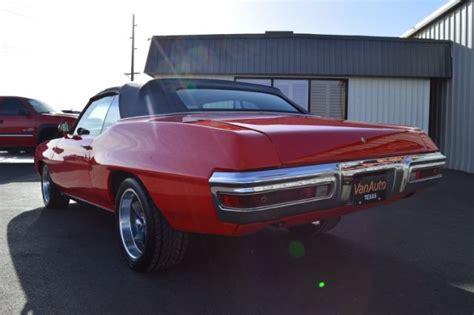 1970 pontiac lemans convertible for sale 1970 pontiac lemans convertible 81 379 used