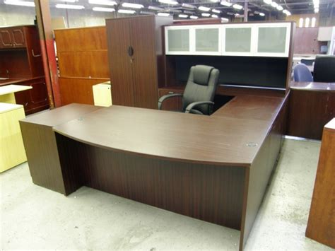 u shaped executive desk u shaped office desk with hutch antique all about house