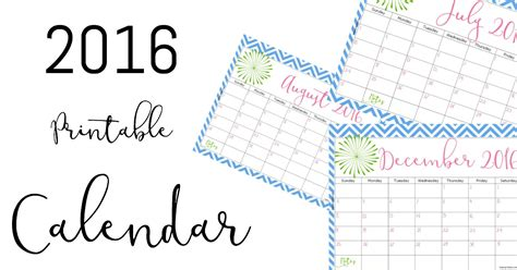 printable life planner 2016 2016 free printable calendar keeping life sane