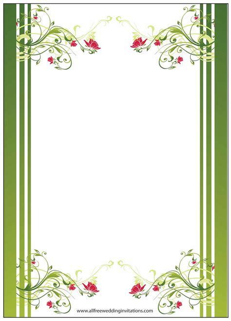 wedding border free free wedding borders for invitations mini bridal