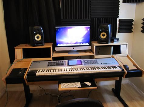 desk for recording studio home recording studio furniture quotes