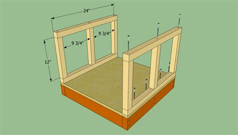 how to make a dog house step by step how to build a small dog house howtospecialist how to build step by step diy plans