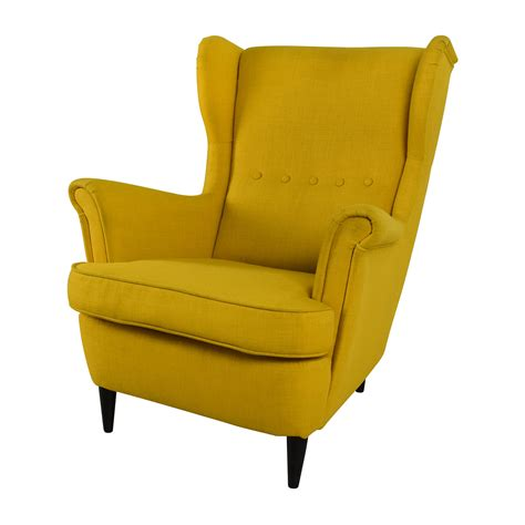 accent armchair 46 off ikea strandmon accent armchair chairs