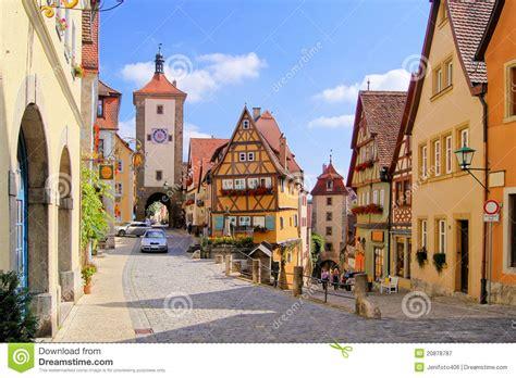 German Village Royalty Free Stock Photography   Image