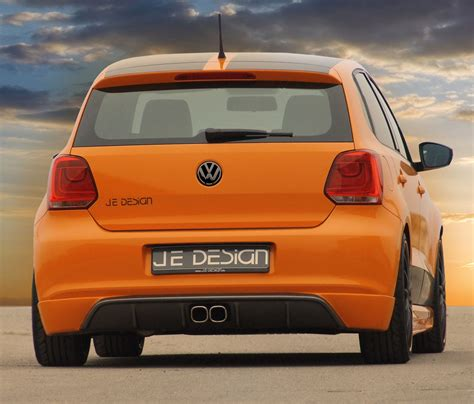 volkswagen polo body vw polo v body kit by je design autoevolution