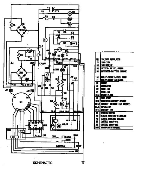 onan 4000 watt generator wiring diagram onan free engine