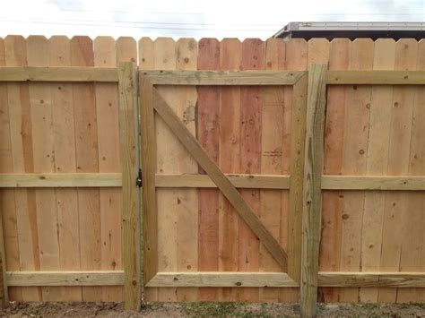 building  wood gate fence plans diy   plans
