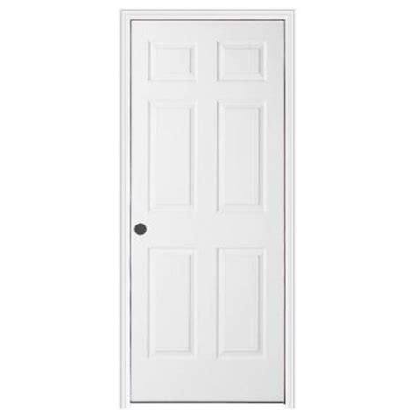 Home Depot 6 Panel Interior Door Jeld Wen 30 In X 80 In Textured 6 Panel Primed Molded Split Jamb Single Prehung Interior Door