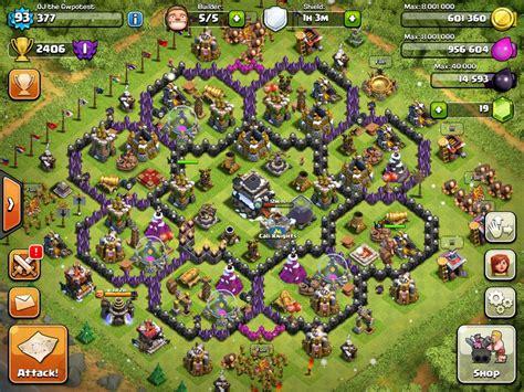 images for strongest base for clash of clans jumarco11 julius marc deviantart