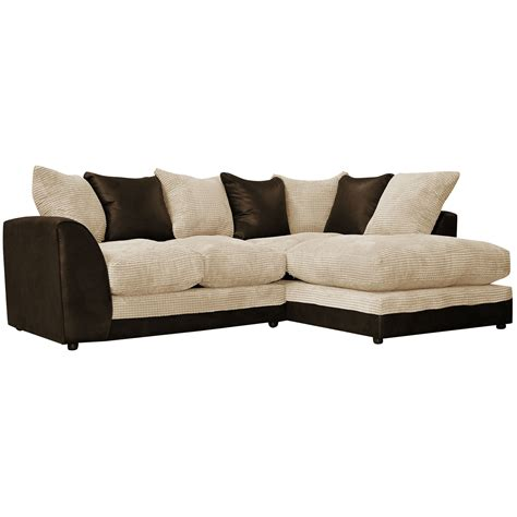 large corner sofas dylan large corner sofa leather style 4 seater sofa
