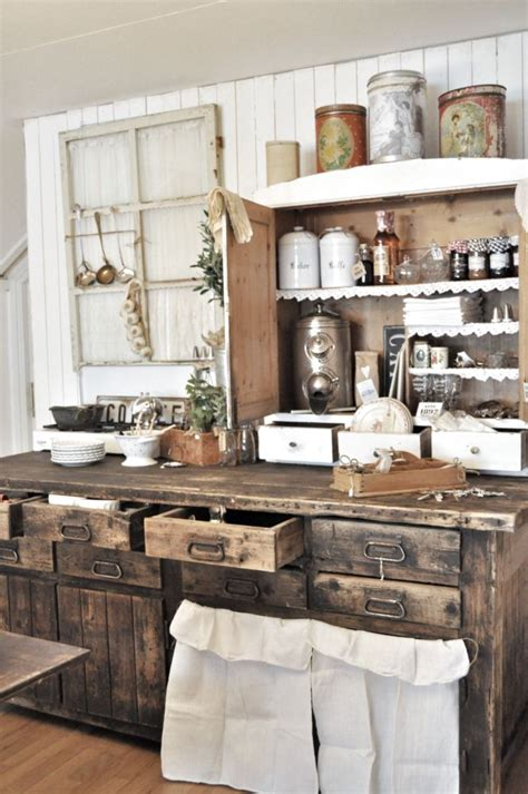 Rustic Country Kitchen Cabinets by 8 Beautiful Rustic Country Farmhouse Decor Ideas
